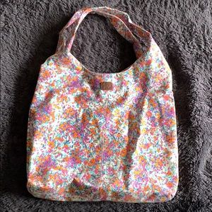 Floral tote bag from Aeropostale